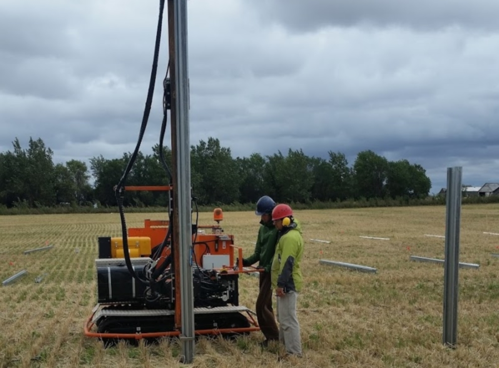 133KW Solar in Taber, Alberta